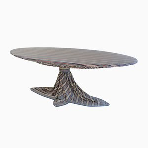 Italian Modern Epoxy Resin Dining Table by Marzio Cecchi for Studio Most, 1970s