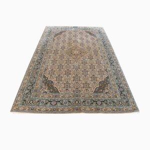 Antiker Teppich aus Seide & Wolle