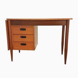 Schreibtisch aus Metall & Teak von Hulmefa Nieuwe Pekela, 1960er