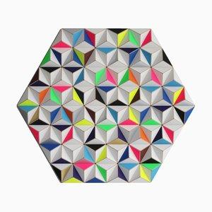 Sculpture Murale Topographie AIS-2 de Sebastian Welzel Design