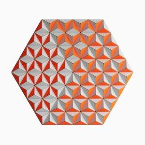 Sculpture Murale Topographie CIS-2 de Sebastian Welzel Design