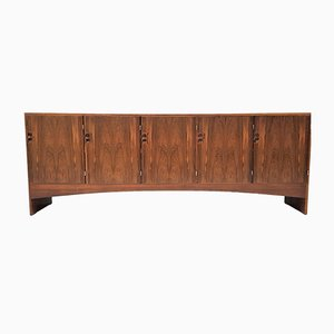 Danish Oak and Rosewood Credenza from Randers Møbelfabrik, 1960s
