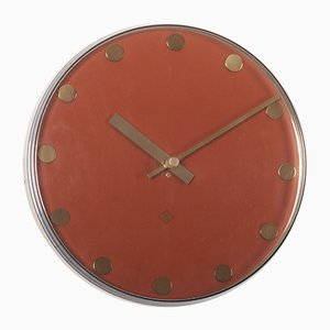 German Electric Wall Clock from Telenorma, 1970s