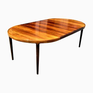 Danish Rosewood Dining Table by Harry Ostergaard for Randers Mobelfabrik