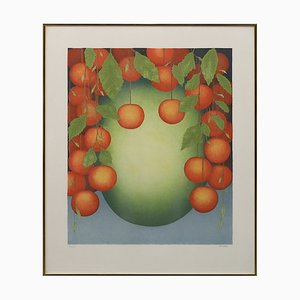 Vintage Color Lithograph by Nils Artur Nilsson