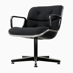 German Swivel Chair by Charles Pollock for Knoll Inc., 1980s