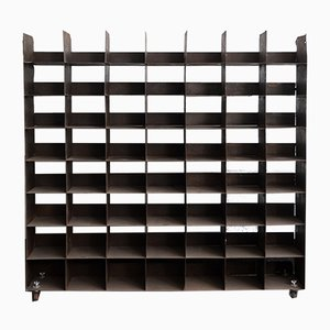 Mid-Century Industrial Iron Blacksmith Shelving Unit, 1950s