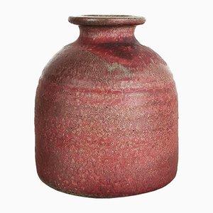 Jarrón de cerámica y loza de barro cocido de Piet Knepper para Mobach, años 60