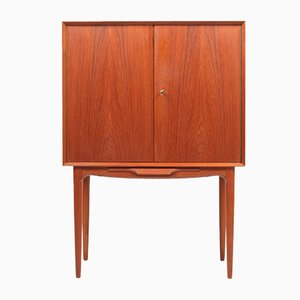 Danish Teak Cabinet by Illum Wikkelsø for CFC Silkeborg, 1960s