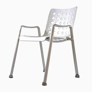 Landi Stuhl aus Aluminium von Hans Coray für Mewa, 1960er