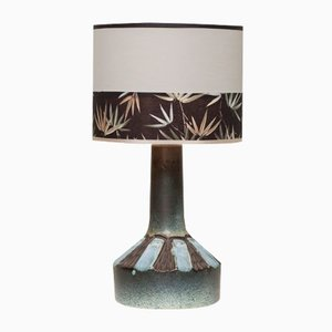 Mid-Century Danish Handmade Ceramic Table Lamp, 1960s