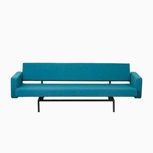 Sofá cama minimalista BR33/BR43 de metal de Martin Visser para t Spectrum, años 60