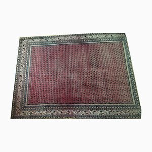 Antique Hand-Crafted Wool Carpet