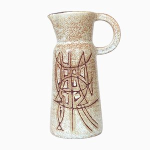 Jarra Mid-Century de cerámica de Accolay, años 50