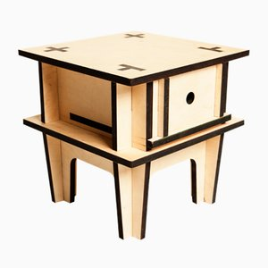Cross Nightstand by Mario Pagliaro