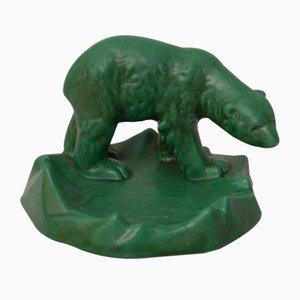 Figurine d'Ours en Céramique de Michael Andersen, 1960s