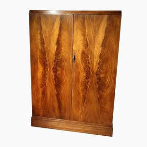 Art Deco Mahogany Wardrobe from Compactom, 1920s