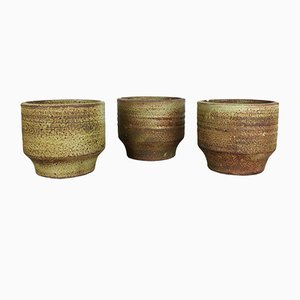 Ceramic Vases by Piet Knepper for Mobach, 1970s, Set of 3