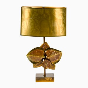 Bronze Table Lamp from Maison Charles, 1970s