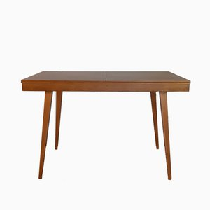 Beech Extendable Dining Table by František Jirák for Tatra, 1960s
