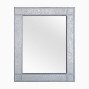 Wandspiegel mit weißem Rahmen von Cupioli Luxury Living