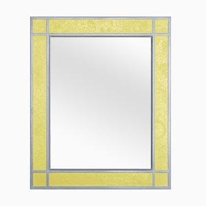 Sophia Wandspiegel mit gelbem Rahmen von Cupioli Luxury Living