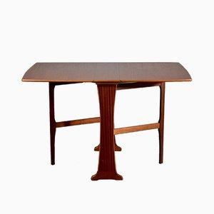Table à Abattant Mid-Century en Teck de Legate, 1960s