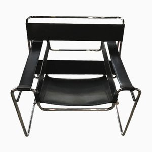 Vintage B3 Wassily Armchair by Marcel Breuer for Gavina, 1970s