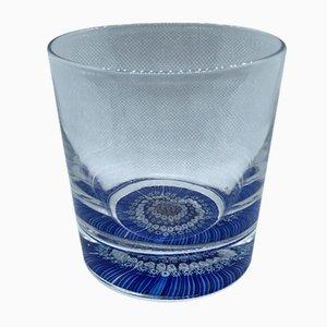 Bicchiere Millefiori 9740 di Whitefriars, anni '70