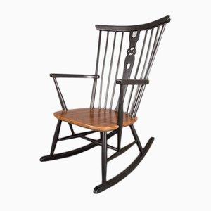 Mid-Century Birch Rocking Chair, 1960s