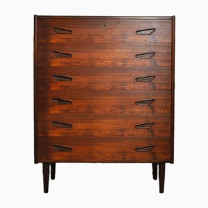 Mid-Century Danish Teak Dresser from KB, 1960s