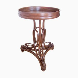Antique Flower Table by Michael Thonet from Jakob & Josef Kohn, 1880s