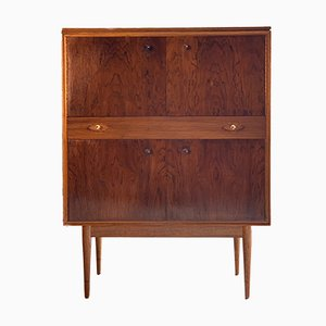 Mueble de palisandro y teca de Robert Heritage para Archie Shine, años 60