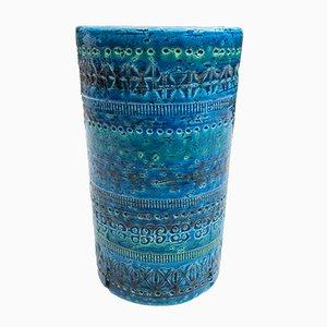 Vase en Céramique par Aldo Londi pour Bitossi, Italie, 1950s