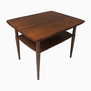 Mid-Century Walnut Coffee Table from Jarocińska Fabryka Mebli, 1950s