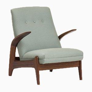 Sessel mit Gestell aus Teak von Rolf Rastad & Adolf Relling für Gimson & Slater, 1960er