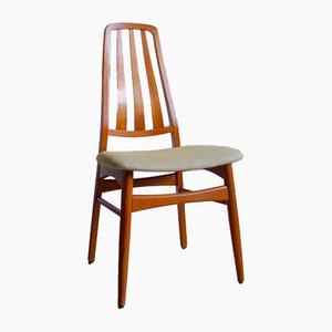 Moderner Esszimmerstuhl aus Teak im skandinavischen Design, 1960er
