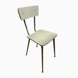 Italian Laminate & Iron Dining Chair, 1950s