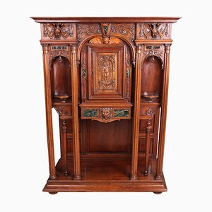 Antique French Walnut Cabinet