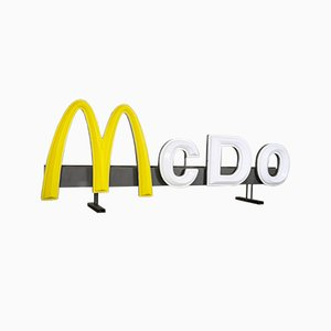 Vintage McDonald's Schild