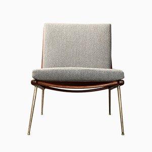Moderner skandinavischer FD 134 Boomerang Chair von Peter Hvidt & Orla Mølgaard-Nielsen für France & Søn, 1950er