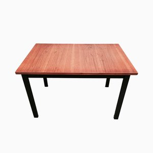 Tavolo da pranzo moderno in teak, Scandinavia, anni '50