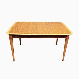 Scandinavian Modern Teak Extendable Dining Table from Asko, 1950s