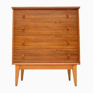 Mid-Century Walnut Dresser by Alfred Cox, 1950s