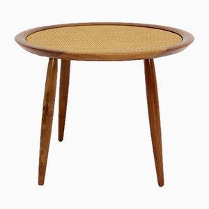 Cherry Side Table by Max Kment for Kunstgewerbliche Werkstätten, 1940s