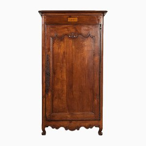 Antique French Mahogany Wardrobe, 1851