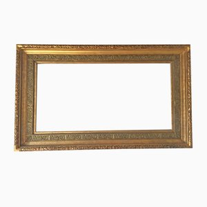 Antiker Rahmen aus vergoldetem Holz