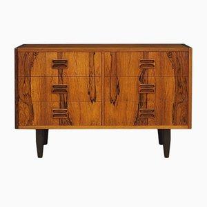 Mid-Century Danish Rosewood & Veneer Dresser, 1960s