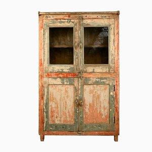 Vintage Birch Cabinet, 1980s
