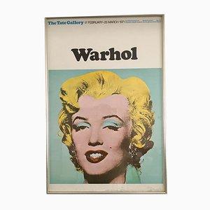 Poster della mostra Pop Art vintage della Tate Gallery, 1971